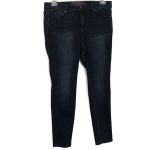 Melissa McCarthy Seven7 | Blue Denim Legging 14W
